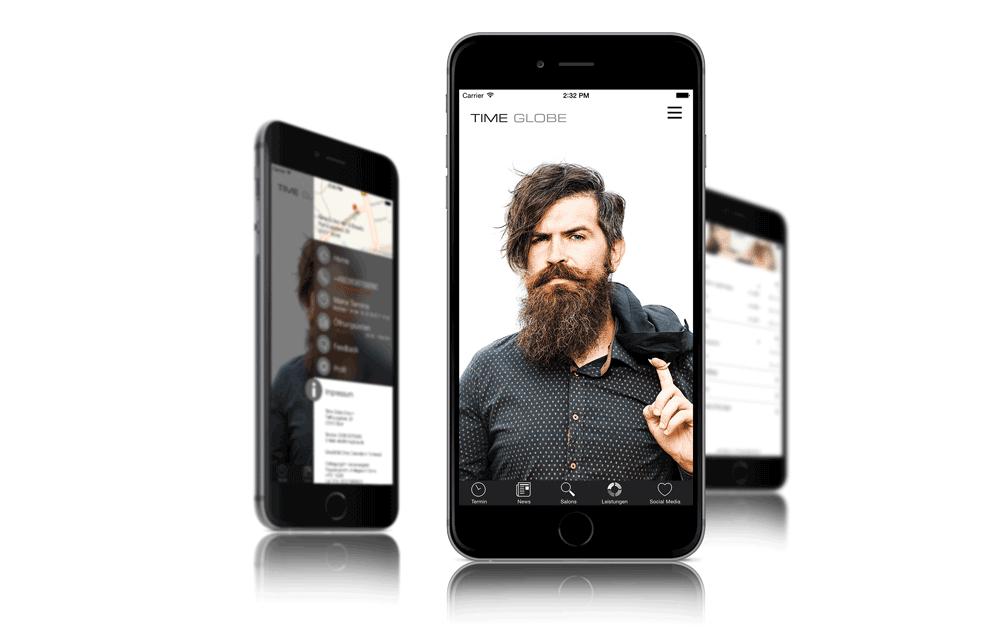 Timeglobe Salon-App
